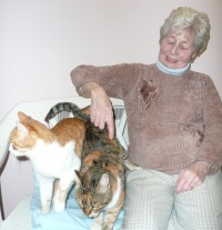 More fuss at Rose Cottage Cattery
